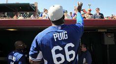 Yasiel Puig, OF, Los Angeles Dodgers (Top 25 under 25 MLB)