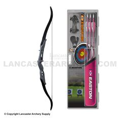 Easton First Start Recurve Bow Package Set - Bows Get Recurve Bows at https://www.etsy.com/shop/ArcherySky