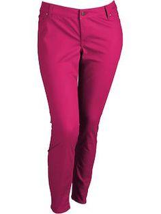 Women's Plus The Rockstar Pop-Color Skinny Jeans | Old Navy