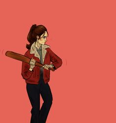 """""""What the hell are you?"""" She raised her baseball bat cautiously as I frantically tried to stop the gash in my leg from bleeding. """"Not something you can chase away with a stick,"""" I snarled at her. """"So put that silly thing down and find me a bandage!"""" She stared at me for a few second, debating with herself what to do. """"You're in my house."""""""