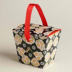 sugar skull wedding/ party favor boxes