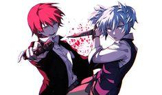 Karma&Nagisa_Assassionation Classroom