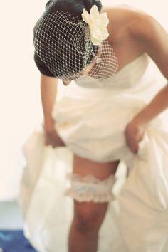 classy garter picture