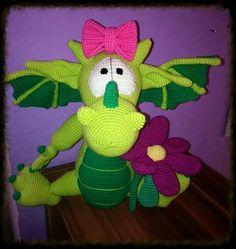#drache #dragon #crochet #häkeln #handmade #handarbeit