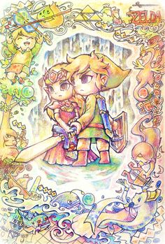 Legend of #Zelda: The Wind Waker (artist?) #Nintendo #fanart