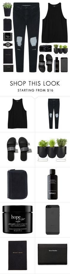"""""""come undone"""" by martosaur ❤ liked on Polyvore featuring Monki, Abercrombie & Fitch, Authentics, Nava, BRAD Biophotonic Skin Care, philosophy, Smythson, Acne Studios and Marc by Marc Jacobs"""