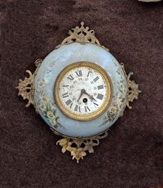 19th c clock March 4th French Flea sights-FleaingFrance