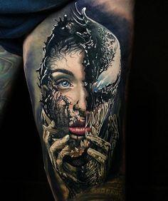 Time Tattoos, Leg Tattoos, Body Art Tattoos, Sleeve Tattoos, Tatoos, Gift Tattoo, Tattoo Henna, Marvel Tattoo Sleeve, Marvel Tattoos