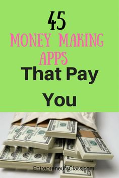 Looking for money making apps that pay you? Check out the list of 45 smartphone apps that pay you to complete simple task for both android and ios.