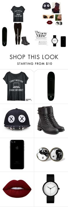 """""""Untitled #73"""" by juliab3638 on Polyvore featuring County Of Milan, Philosophy di Lorenzo Serafini and Lime Crime"""