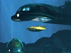 voyage to the bottom of the sea...the childhood nostalgia continues!