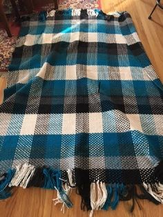 The Finally a Blanket for Husband crochet project by Ruthie W | LoveCrochet