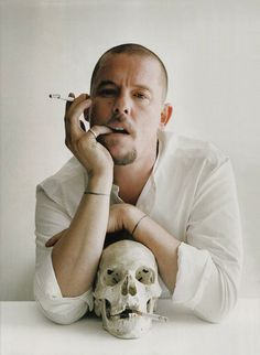 """Of course I make mistakes. I'm human. If I didn't make mistakes, I'd never learn. You can only go forward by making mistakes."" Alexander McQueen. Photo by Tim Walker"