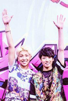 BTS | RAP MONSTER and JUNG KOOK