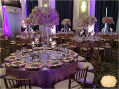 Wedding Design for Audrianna and Nick Perry. Design by Kesh Events