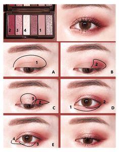 Korean Makeup Tips, Korean Makeup Look, Asian Eye Makeup, Eye Makeup Steps, Makeup Eye Looks, Eye Makeup Art, Smokey Eye Makeup, Makeup Eyes, Asian Makeup Tutorials