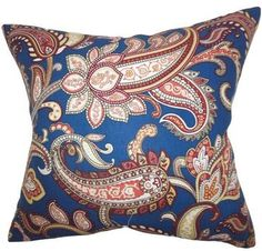 Galila Floral Throw Pillow