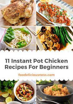 Looking for some deliciousinstant pot chichen recipes? I've got a collection here of the best instant pot recipes for your family for holiday season! Side Dishes For Chicken, Easy Chicken Dinner Recipes, Chicken Wing Recipes, Brunch Recipes, Meat Recipes, Recipes Dinner, Dinner Ideas, Chichen Recipe, Hallowen Food