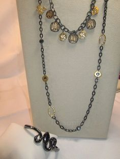 163 lia sophia bracelet 58 bring on the bling 2016 pinterest nwt 3 pc lia sophia set cyprus modesto necklace snake charmer bracelet aloadofball Image collections