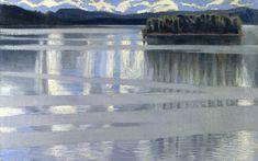 Akseli Gallen-Kallela, Lake Keitele, 1905, Oil on canvas, 53 x 67 cm, Lahti Art Musuem