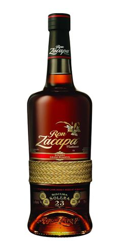 Ron Zacapa Centenario blends rums aged from 6 to 23 years into a dark solera rum that will please even the most demanding rum drinkers. Wine And Liquor, Liquor Store, Wine And Beer, Whisky, Whiskey Label, Alcohol Bottles, Liquor Bottles, Vodka, Ron Zacapa 23