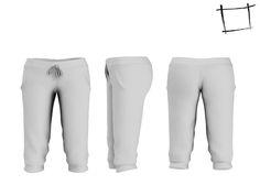 db1669c298a Full Perm Rigged Mesh Women s Lowrise Capri shorts Rigs