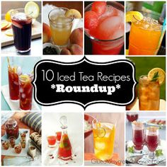 Iced Tea Recipe Roundup
