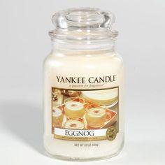 Eggnog Yankee Candle #YankeeCandle #MyRelaxingRituals