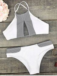 SHARE & Get it FREE | Color Blocked High Neck BikiniFor Fashion Lovers only:80,000+ Items • New Arrivals Daily • Affordable Casual to Chic for Every Occasion Join Sammydress: Get YOUR $50 NOW!
