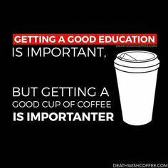 Hahahaha! Education would've fix that grammar LOL