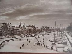 Historie - Harlingen - Noorderhaven in wintertijd - 1978 / 1979