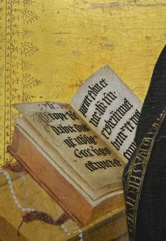 """Jaume Baco Escriva, detail from """"The Annunciation"""""""