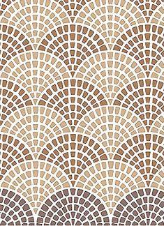 Wall Stencils Mosaic Floor Stencil Interior Design