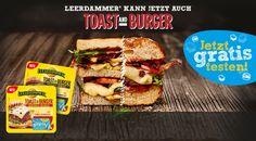 Kostenlose Käse Testaktion bei Leerdammer. Sie können den Toast and Burger von Leerdammer bei einer Geld-zurück-Aktion gratis probieren. Kaufen Sie