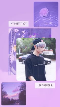 Ideas For Nct Aesthetic Wallpaper Taeyong Navy Wallpaper, Pink Wallpaper Iphone, Emoji Wallpaper, Wallpaper Quotes, Wallpaper Backgrounds, Wallpaper Stickers, Nct Taeyong, Purple Aesthetic, Kpop Aesthetic
