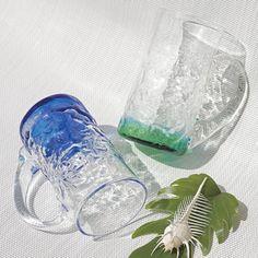 琉球ガラス(潮騒でこぼこジョッキ)