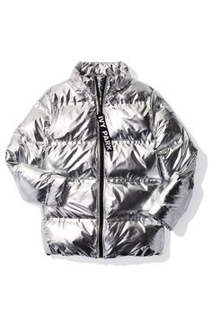 Main Image - IVY PARK® Metallic Puffer Coat