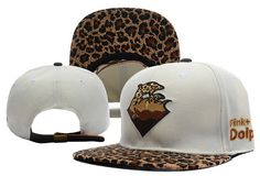 Cheap Wholesale Pink Dolphin Leopard White Strapbacks Hat Women s And men s  pop Adjustable Baseball street Caps 8151925cf