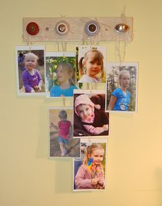 If you've collected hundreds of photos with your ourphotoopp.com app, you'll want to find creative ways to display them. Check out these ideas for display without frames!