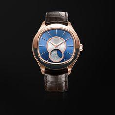 b9a5d4aa481 Reloj Automático fases lunares Oro rosado - PIAGET Relojes de Lujo G0A34022  Reloj Automatico