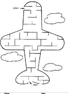 """Spies and Ninjas freeeeeeee! printable mazes for kids (big kids, too! I plan to print and laminate some (makes them reusable with dry-erase marker) then add them to a 3 ring binder collection of """"quiet time"""" activities :) Airplane Activities, Quiet Time Activities, Educational Activities, Preschool Activities, Mazes For Kids Printable, Free Printables, Transportation Theme, Business For Kids, Travel With Kids"""