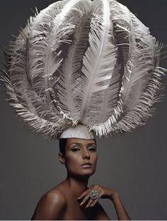 Con plumas y a lo grande #tocados