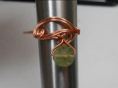 The Teardrop Ring - A Wire Wrap Tutorial by Rachel Murgatroyd - YouTube