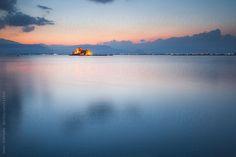 Bourtzi Castle in Nafplio, Greece by Helen Sotiriadis
