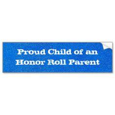 Proud Child Bumper Sticker