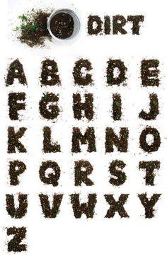 dirt alphabet from jenny odell