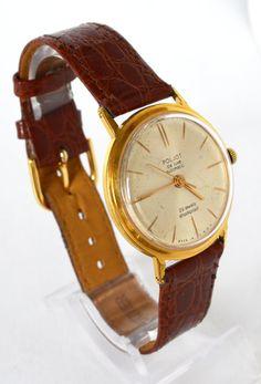 Men's Deluxe Vintage Watch Automatic Collectibles USSR #POLJOT #LuxuryDressStyles #Gold #Deluxe #Fathersday #Gifthim #Automatic #Collectibles #Hipster #Casual #Vintage