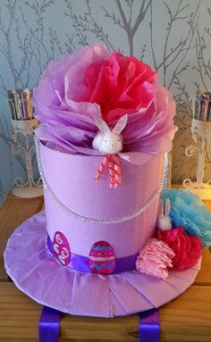 Easter bonnet, top hat