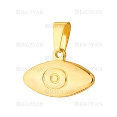 colgante de ojo especial dorado acero inoxidable-SSPTG921393
