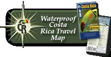 This is a map of Costa Rica with a special section with Tamarindo